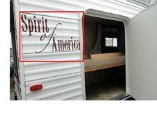 COACHMEN SPIRIT OF AMERICA DECAL NAME / WORD VINYL GRAPHICS TRAILER RV SOA