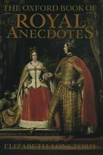 LR322 The Oxford Book of Royal Anecdotes (1989, Hardcover)