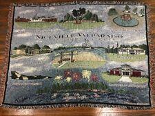 Niceville Valparaiso Twin Cities Florida FL bayou Afghan Throw Blanket NEW RARE