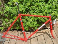 Carlton Road frame 55cms 60s/ early 70s 58cm repainted  seatpost bottom bracket