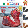 Women Autumn Arch Support Boots Multi Colors hot-flat-heel-boots Casual Fast NEW