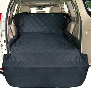 SUV Cargo Liner for Dogs F-color Waterproof Pet Cargo Cover Dog Seat Cover Ma...