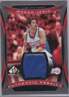 Marko Jaric 2004-05 UPPER DECK SP Game-Used Edition Jersey Card #AF-JA