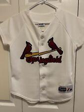 Majestic Apparel Women's SPRINGFIELD Cardinals White Baseball Jersey Size Medium