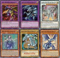 Yugioh Blue-Eyes White Dragon Deck - 40 Cards + 5 Extra - Ultimate, Shining