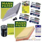 MANN-FILTER INSPEKTIONSPAKET FILTERSATZ C FÜR VW GOLF 4 1J 1.6 1.8 2.0 BJ 97-06