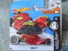 Hot Wheels 2017 # 032/365 TUMBA Up Rojo SUSTO CARS