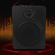 Car/Truck Slim Under-Seat Audio 90dB Signal To Noise Ratio Amplified Subwoofer