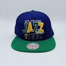 Retro 70s New Orleans Utah Jazz NBA Mitchell & Ness SnapBack Purple Hat Cap