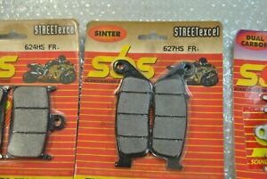 BRAKE PADS SBS CODE 627 HS  ANTERIORE / FRONT
