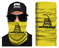 Face Mask Dont Tread On Me Sun Shield Neck Gaiter Headband Bandana Du Rag Spf40