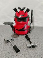 Ninja Bots  Hilarious Battling Robot Red With Weapons