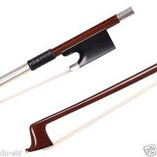 4/4 NEW. Silver Mounted PERNAMBUCO Violin Bow Top IPE #38