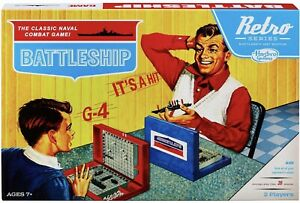 BATTLESHIP Retro Series Classic Naval Combat Game By Hasbro Based On 1967 Game