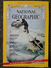 National Geographic magazine March 1974 With Map of North Central States, Artic