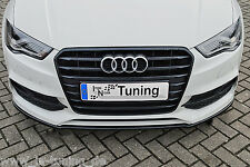 Spoilerschwert Frontspoiler Lippe Cuplippe ABS für Audi A3 S3 8V S-Line Limo