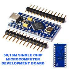 GZ Pro Micro Leonardo 16M for Arduino ATMEGA32U4 Board TE463 Module 33.1*17.9mm