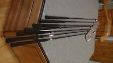 set of 7 Black shark deep cut golf clubs right hand
