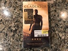Gladiator New Sealed Vhs! 2000 Action! See) Troy Alexander & Spartacus