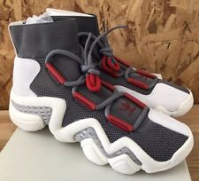 Adidas Crazy 8 A D CQ1869 Grey Red White Sz 10.5 NIB