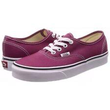 7f9e367a7370 Vans authentic PURPLE ROSE sneaker shoes white men size 7 /woman size 8.5  new