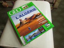 geo 489 ...l'algerie ...neuf