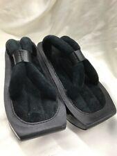 VINTAGE YOHJI YAMAMOTO for ADIDAS BLACK Sandals Shoes Thong Geisha SIZE 9