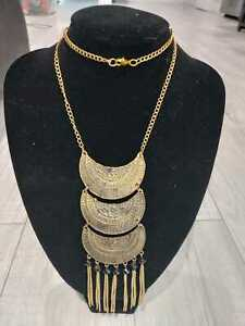 Gold Plated Alloy Necklace. RELIABLE