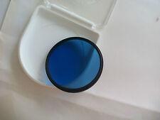 Filtro optico Azul Nikon B 12 52 mm. Japan. Optical filter