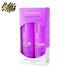 Kit Antigiallo Shampoo 300 ml + Maschera 300 ml - No Yellow Inebrya Ice Cream