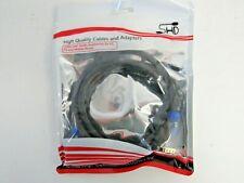 NEW VGA Cable,SHD VGA to VGA HD15 Monitor Cable 3ft VGASHD-3 WH1 WW