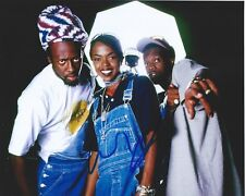 "WYCLEF JEAN signed 8x10 PHOTO COA THE FUGEES AUTO RAP REGGAE ""THE SCORE"" PROOF"