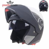 NEW FULL FACE Modular Flip Up Front Helmet Suit Road Bike Motorcycle