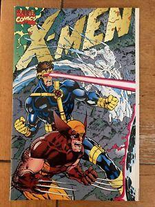 X-MEN #1 NM * Unread * Deluxe Cover E Wrap Around Jim Lee 1991 Original Owner
