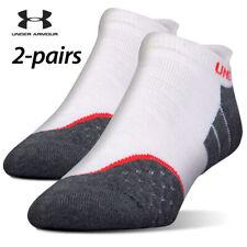 UA Socks: 2-PAIR All Season Wool No Show (L) Greystone