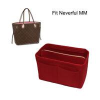 Felt Tote Bag Organizer Handbag Organizer for Speedy 35 Neverfull MM Bag in Bag