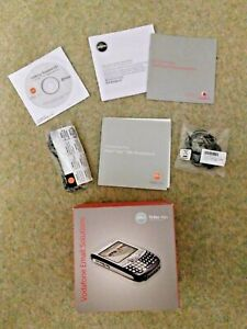 PALM TREO 750V BOX AND ACCESSORIES, EARPHONES, CHARGING CABLE, USB (NO PHONE)