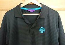 MG Mens Polo Shirt Black Large
