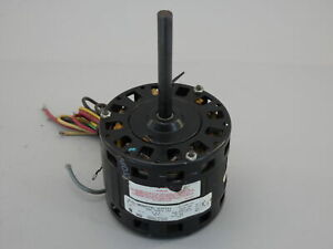 1/5HP A.O. Smith 322P582 Fan Motor, 115V, 4SPD