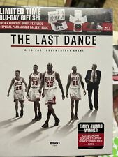 The Last Dance Gift Set Blu-Ray Chicago Bulls Michael Jordan ✨BRAND NEW! SEALED✨