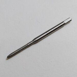 3 Flute HSS MiniTaps M2.0 Thread x .40mm Pitch Plug Tap High Speed Steel