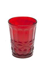 Calici Acqua Tognana Solange in vetro Set 6 Bicchieri Rossi cc. 265