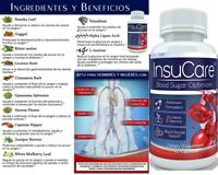 InsuCare  Blood Sugar Optimizer support glucose insulin pancreas