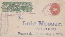1892, Wells Fargo Express, Tampico to City of Mexico (21607)