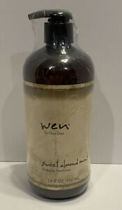 New Sealed Wen Sweet Almond Mint Cleansing Conditioner 16 Oz Pump Chaz Dean