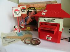 Vintage Coleco Pizza Hut Baking Oven Toy Playset & Accessories With Box