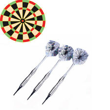 New3*Steel Tips Darts Shafts Flight Spider Harrow Point Wing Needle Throwing Toy