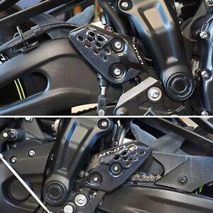 Adesivi 3D Protezioni Battitacco compatibili con Moto Yamaha Mt-07 2014-2022
