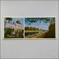 Admin Building S.M. Kirov Naberezhnaya Canal 1976 Panorama Postcard (P401)