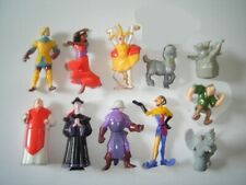 DISNEY THE HUNCHBACK OF NOTRE DAME FIGURINES SET NESTLE - FIGURES COLLECTIBLES
